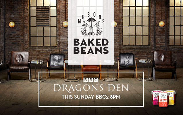 Masons Beans on Dragons' Den
